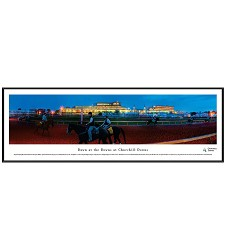Churchill Downs Dawn at the Downs Panorama Standard Frame
